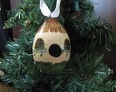 Gourd Birdhouse Ornament