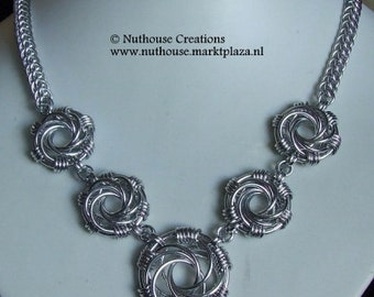 Chainmail Maillestrom Necklace