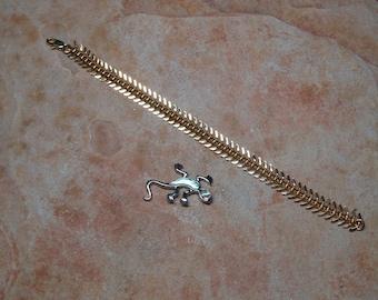 Quality 14 Karat Gold Filled Centipede Bracelet