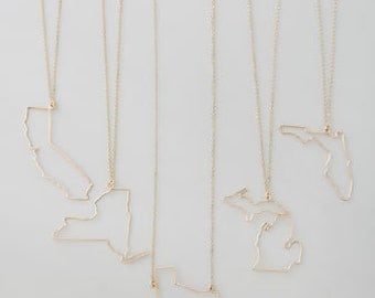 State necklaces- All 50 states