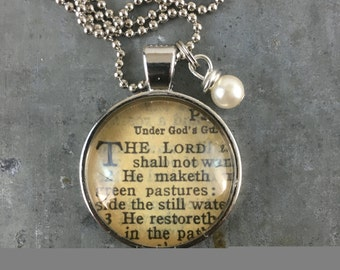 One Verse Bible necklace 2016 verse of the year