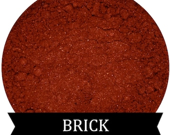 Dark Burnt Red Orange Eyeshadow BRICK