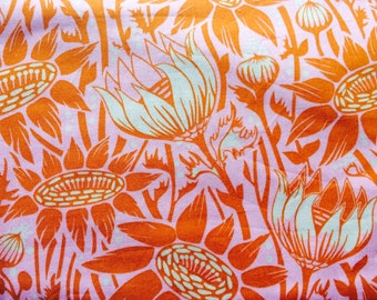 Anna Maria Horner Coreopsis sugar, Loulouthi, OOP, htf, by the yard, botanical fabric