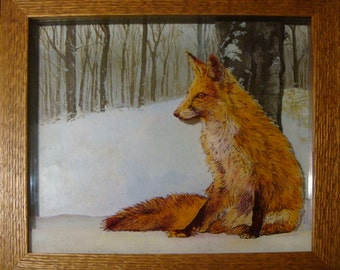 Winter Fire Fox