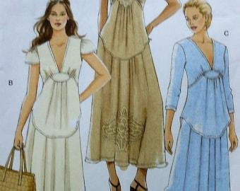 Vogue Dress Sewing Pattern UNCUT V8384 Sizes 6-12