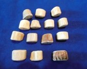 14 Antler Beads Mixed Lot 35