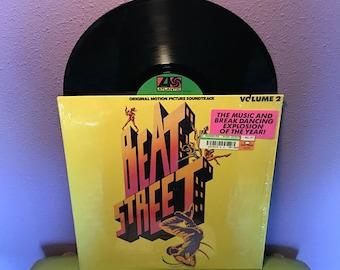 SHOP CLOSING SALE Rare Vinyl Record Beat Street Original Soundtrack Vol. 2 Lp 1984 Hip Hop Old Skool