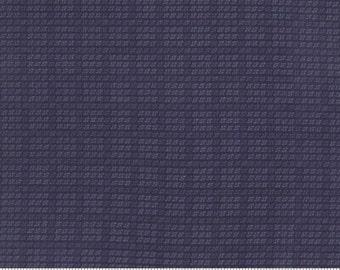 Blue Flannel Cross Check Flannel Moda 1192 12F  Primitive Gatherings The Farmers Wife