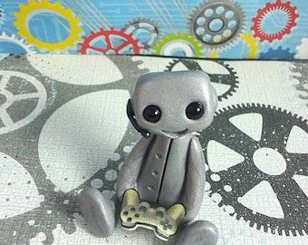 Gamer Robot (Grey)
