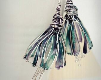 Fairy flowers earrings