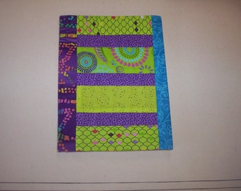 Hand Made Quilted Composition Book Cover-3