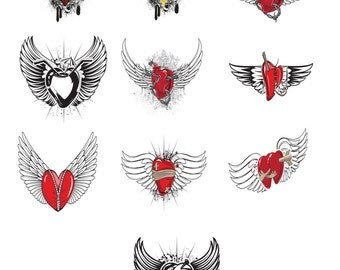 10 Vintage Emblem H1-Digital ClipArt-Art Clip-Party-Gift Tag-Jewelry-Notebook-Scrapbook-banner-background-gift card.