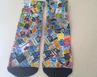 Yiddish Sayings Socks