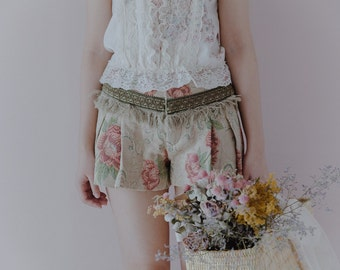 Tapestry floral short pants S
