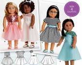 18 inch Doll Clothes Pattern - American Girl Doll Clothes Pattern - Simplicity Sewing Pattern 8039