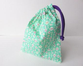 Liberty Lawn Small Drawstring Bag