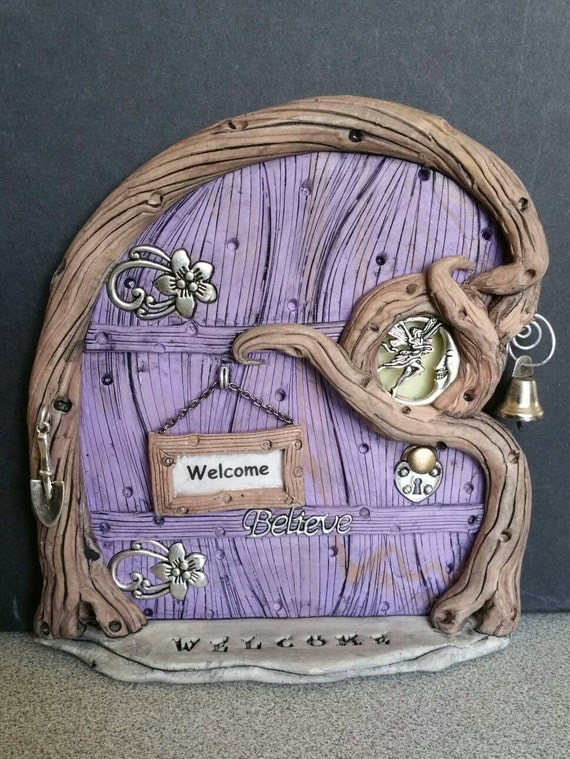 Fairy door personalized 1130 3 day sale off for Fairy doors for sale