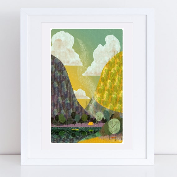 Sanctuary #7 - Signed Print from Cruel & Curious