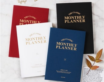 FINAL sale due to printed 2016 -Monthly planner