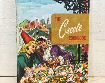 The Creole Cookbook - Culinary Arts Institute - Vintage Cookbook, Retro Cookbook,
