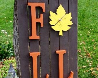 Wood Pallet Autumn Fall Sign