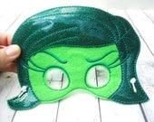 Angry Girl Emotions Children's Felt Mask