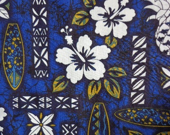 Hibiscus Floral Hawaiian Themed Fabric by Notions in Paradise, Ltd