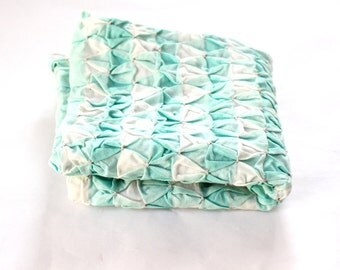 Vintage 50s Smocked Pillow Case