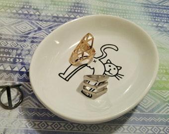 Ring dish cat butt ring dish