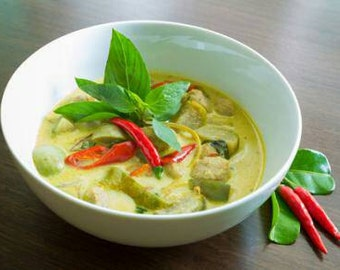 Traditional  Thai Green Curry Paste