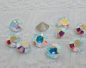 SS20 Swarovski Crystal AB Round Rhinestone #1028 Qty 10