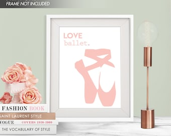 LOVE BALLET - Art Print (Featured in Rose Quartz) Love Dance Art Print and Poster Collection