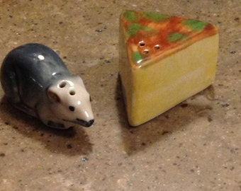 Mouse Cheese Shaker Etsy