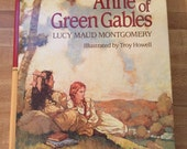 1988 Longmeadow press hard cover edition of Anne of Green Gables illustrated by Troy Howell