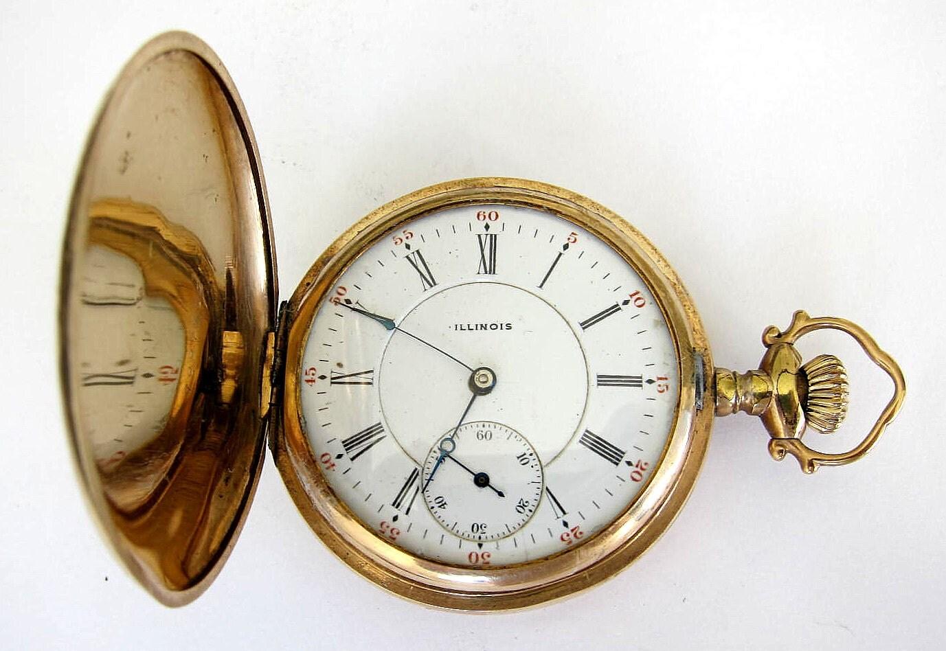 Vintage Watche markiert Illinois