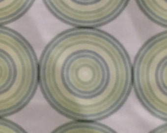 Green Concentric Stole