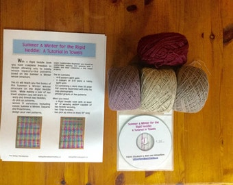 Summer & Winter for the Rigid Heddle Weaving Kit