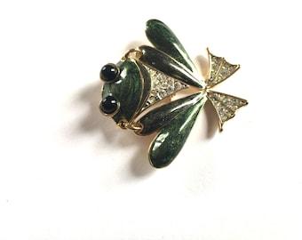 Adorable Frog Pin