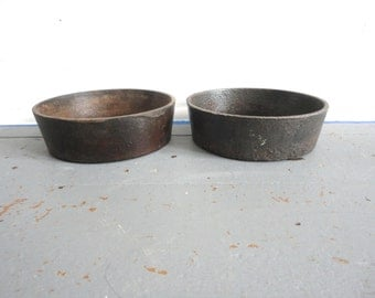 Two Cast Iron Dishes or Pans