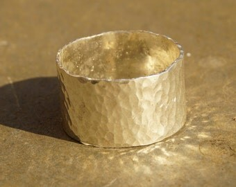 Sterling Silver Dimple Ring