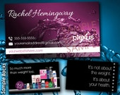 Pink Water Business Card