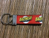 Mini Key Fob - Bazinga