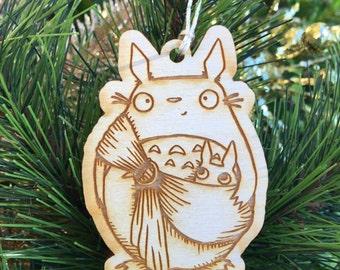 Totoro Ornament - Babywearing Ornament - My Neighbor Totoro