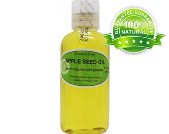 4 Oz Apple Seed Oil 100% Pure & Organic Cold Pressed