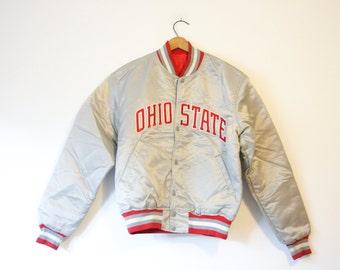 Vintage Ohio State University Buckeyes Starter Jacket