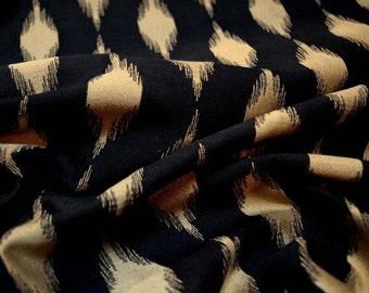 Wayang Black Swavelle Mill Creek Fabric