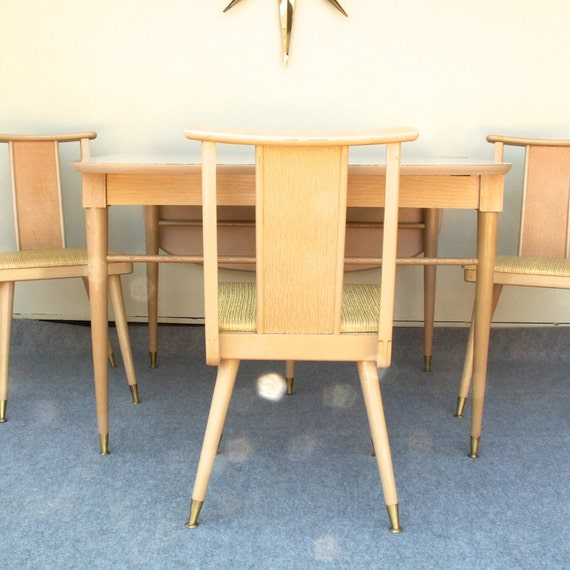Vintage Dining Table And Buffet By Lookingforyesterday On Etsy