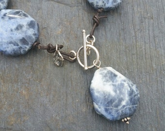 Sodalite Necklace / Sundance Inspired / Gift for Her