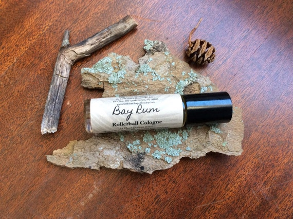 Bay Rum Cologne, Fragrance For Men, Roll-On masculine manly spice robust warm classic