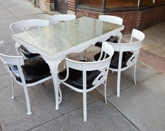 Items Similar To Reserved Vintage Aluminum Patio